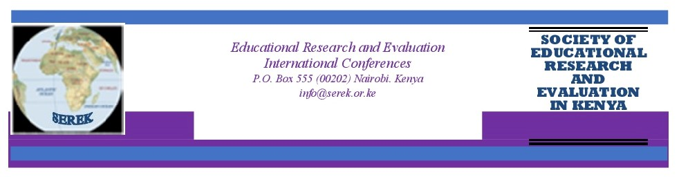 SEREK Annual Educational Research and Evaluation International Conference