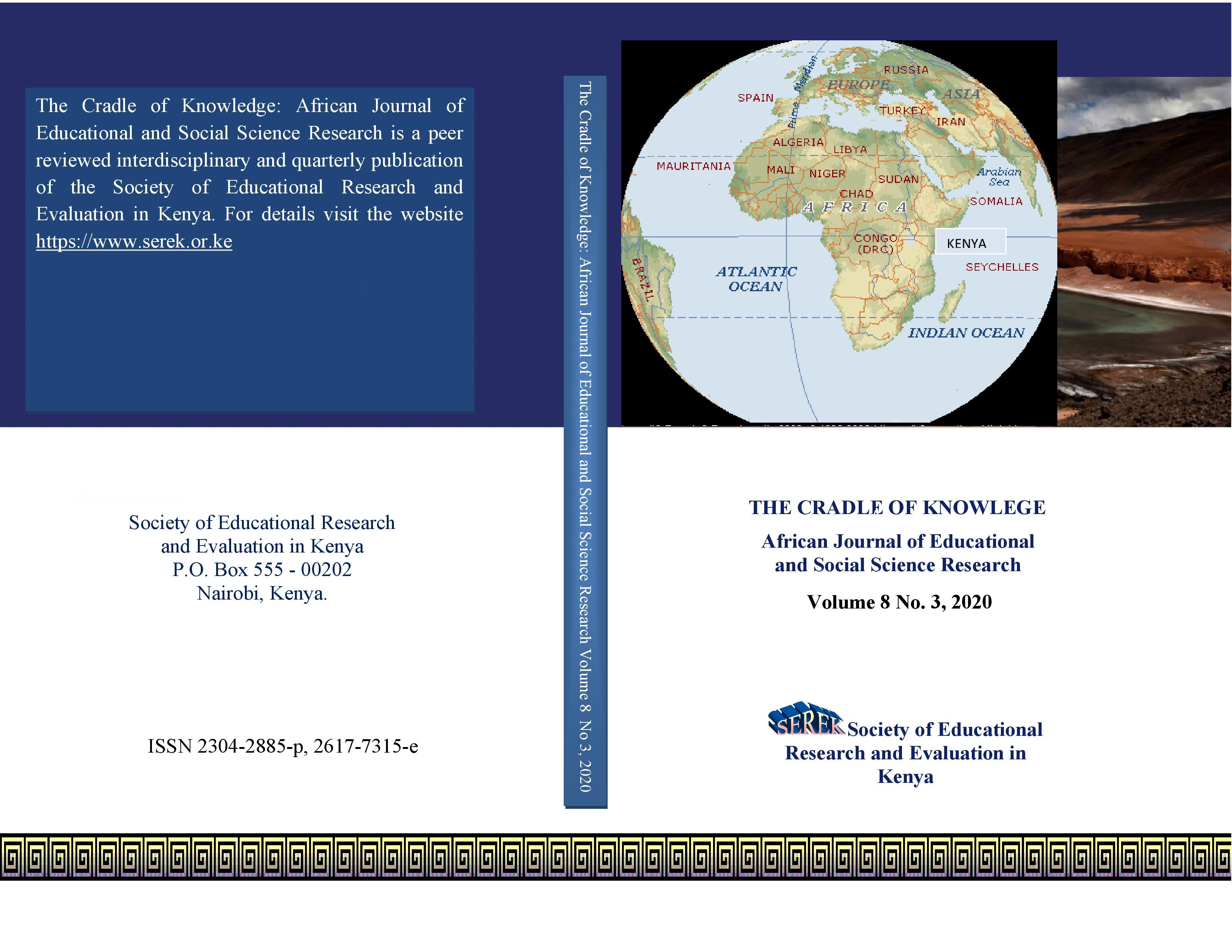 ISSN 2304-2885p, 2617-7315e Vol. 8 No. 3, 2020